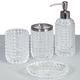 Deco Glass Bath Accessories