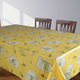 Olive Oil Vinyl Table Linens