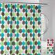 Spyrograph Shower Curtain