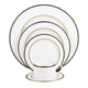 Library Lane Navy 5-Piece Place Setting by Kate Spade