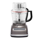 KitchenAid Architect Food Processor Cocoa Silver