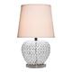Metal/Crystal Table Lamp