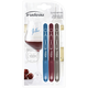 Set of 3 Washable Glass Markers by Trudeau