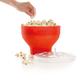 Lékué Red Microwave Popcorn Maker
