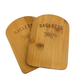 Swiss Cross Bamboo Underlay for Raclette Pan