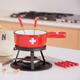 9-Piece Cheese Fondue Set by Swiss Cross