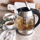 CL Cuisiluxe Cordless Glass Electric Kettle