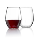 Perfection Stemless Wine Glasses (Set of 12)