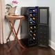 18-Bottle Dual Zone Wine Cooler