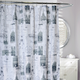 Eiffel Fabric Shower Curtain