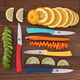 Ricardo Set of 4 Paring Knives