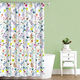 Fiore Fabric Shower Curtain