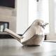 Lilo Dimpled Ceramic Bird Decor in Silver