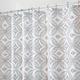 Vintage Tile Fabric Shower Curtain