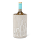Cement Wine Cooler with Pattern