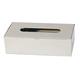 Rectangular Chrome Tissue Box