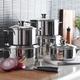 J.A. Henckels International Biarritz 10-Piece Cookware Set