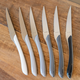 Monochrome Steak Knives Set of 6 by Amefa