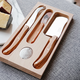 Laguiole 3-Piece Cheese Set by Jean Dubost