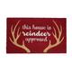 Reindeer Approved Mat