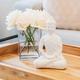 Sitting Ceramic Buddha Decor Statue