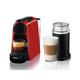 Essenza Mini Nespresso Machine with Aeroccino by Delonghi