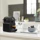 Black Inissia Nespresso Capsule Machine by Delonghi