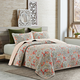 Coral Paisley Quilt Collection