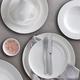 Diamond Round Dinnerware by Maxwell & Williams