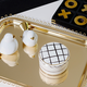 Keaton Street Gold Serveware Collection by Kate Spade