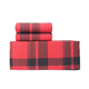 Cosy Plaid Flannel Sheet Set