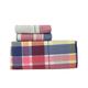 Varsity Plaid Flannel Sheet Set