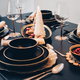 Alta Onyx Dinnerware Collection by LC Loft