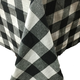 Country Check Fabric Tablecloth