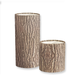 Bark Planter Pot Collection