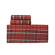 Red Plaid Flannel Sheet Set