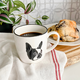 Retro Bicycle and Boston Terrier Stoneware Accesssories by Abbott