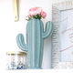 Cactus Shaped Vases by Design Home