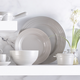 Le Gourmet Grey Dinnerware Collection