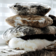 Faux Fur Cushion, Throw and Runner Collection