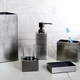 Steely Bath Accessories Collection