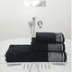 Metallic Pleated Towels