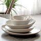 Street Line White Dinnerware Collection