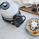 Rotating Electric Belgian Waffle Maker by CL Cuisiluxe