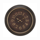 Clock with Antique by Standa Home Furnishings