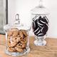 Glass Candy Jars by S&C