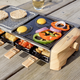 Raclette 18-Piece 3-in-1 Grill Set by CL Cuisiluxe