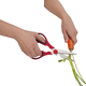 Red Multi-Kitchen Shears by Trudeau