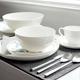 Strand 42-Piece Dinnerware Set by LC Loft
