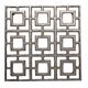 Gunmetal Square Metal Trivet